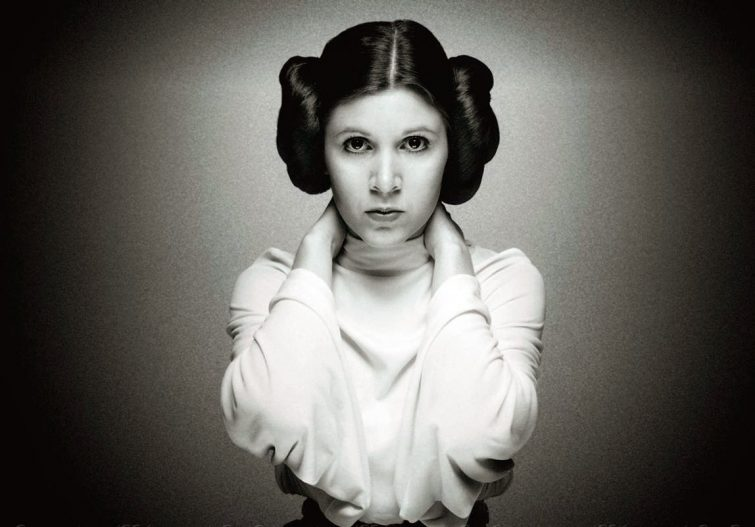 Carrie Fisher icons